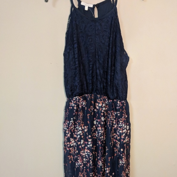 8f69d27ac6ce Maurices Floral Print Maxi Dress with Lace Top